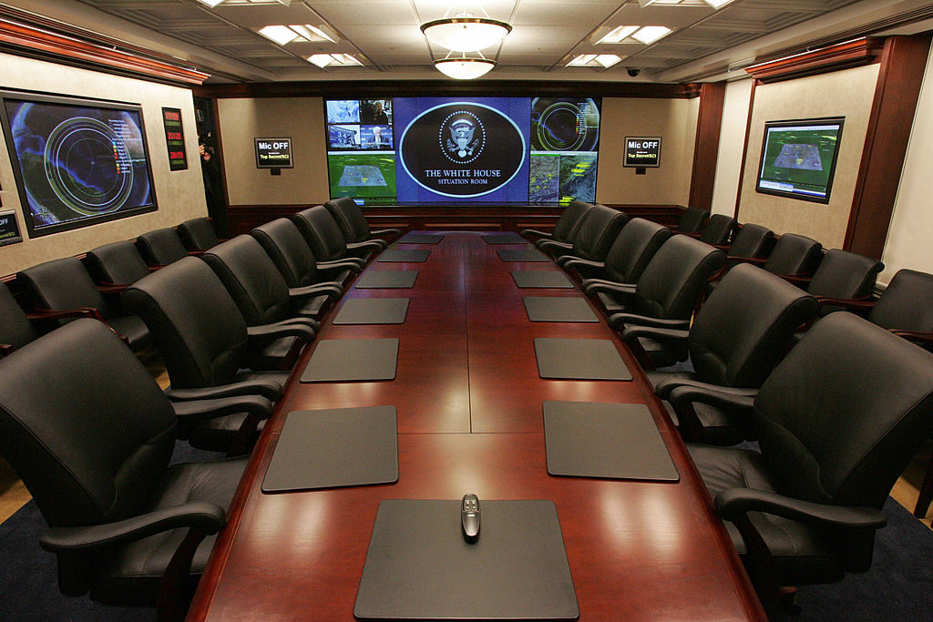 The White House situation room will soon have a different staff working in it.