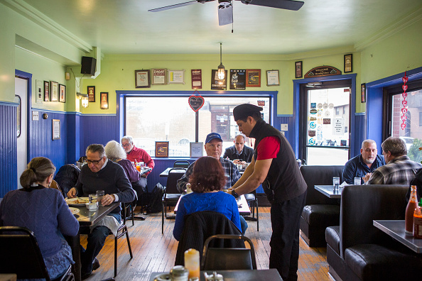 "Philadelphia's Morning Glory Diner:  With the support of the owner, the majority of the staff, which is Latino, planned to skip work on February 16 as part of a ""Day Without Immigrants"" campaign aimed at showing their economic power and protesting Donald Trump's immigration policies."