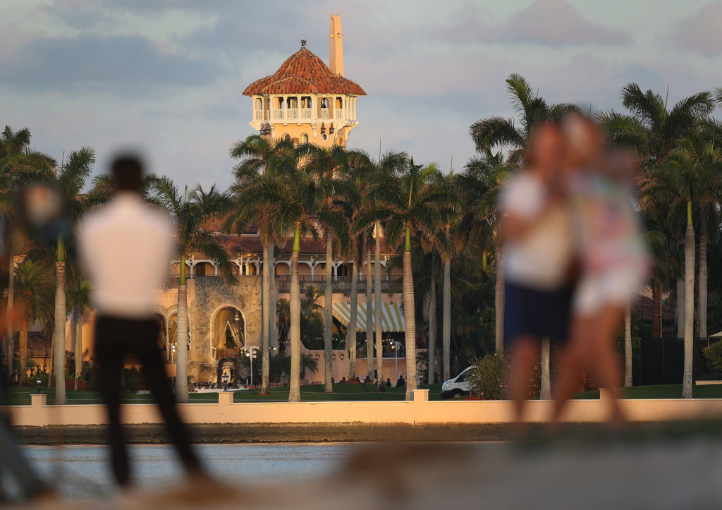 The Mar-a-Lago Resort West Palm Beach, Florida.