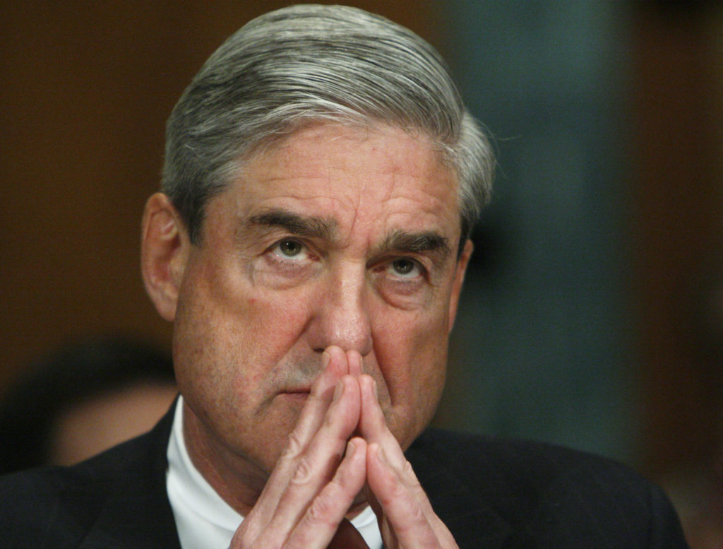 Special counsel Robert Mueller in 2009 when he was Director of the Federal Bureau of Investigations.