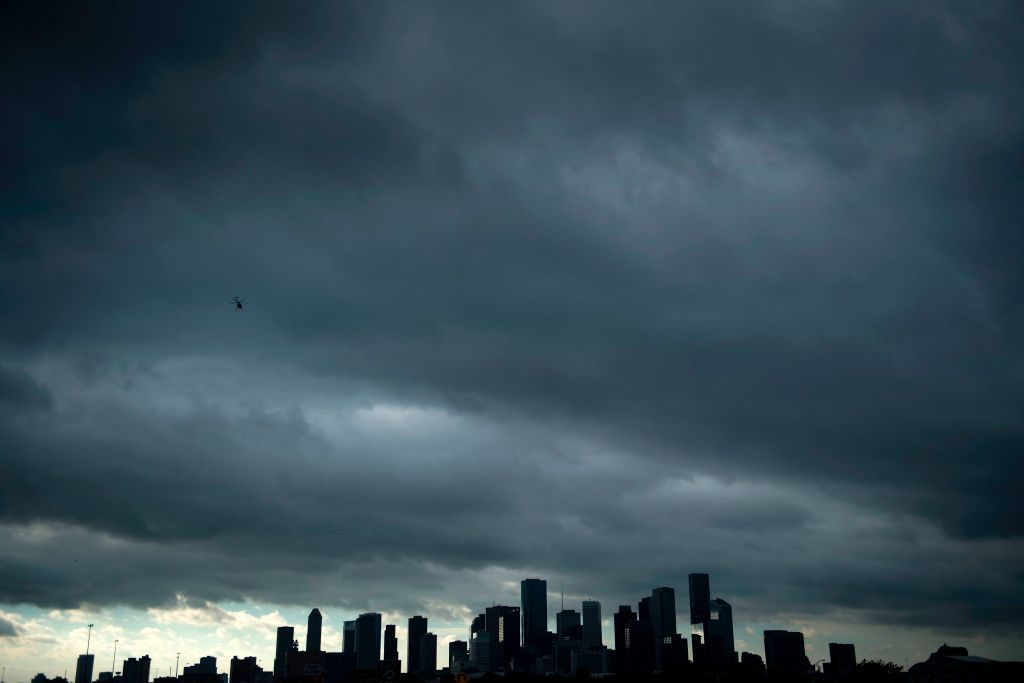 Hurricane Harvey set what forecasters believe is a new rainfall record for the continental U.S. The city of Houston took much of the damage.