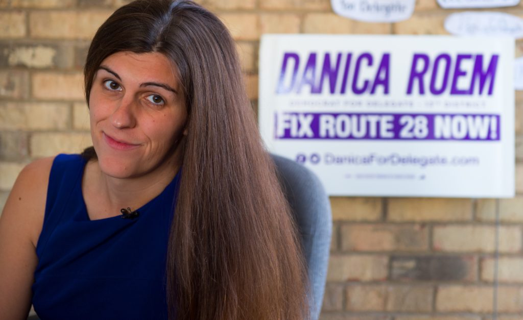 Danica Roem is the first openly transgender candidate elected to the Virginia legislature.